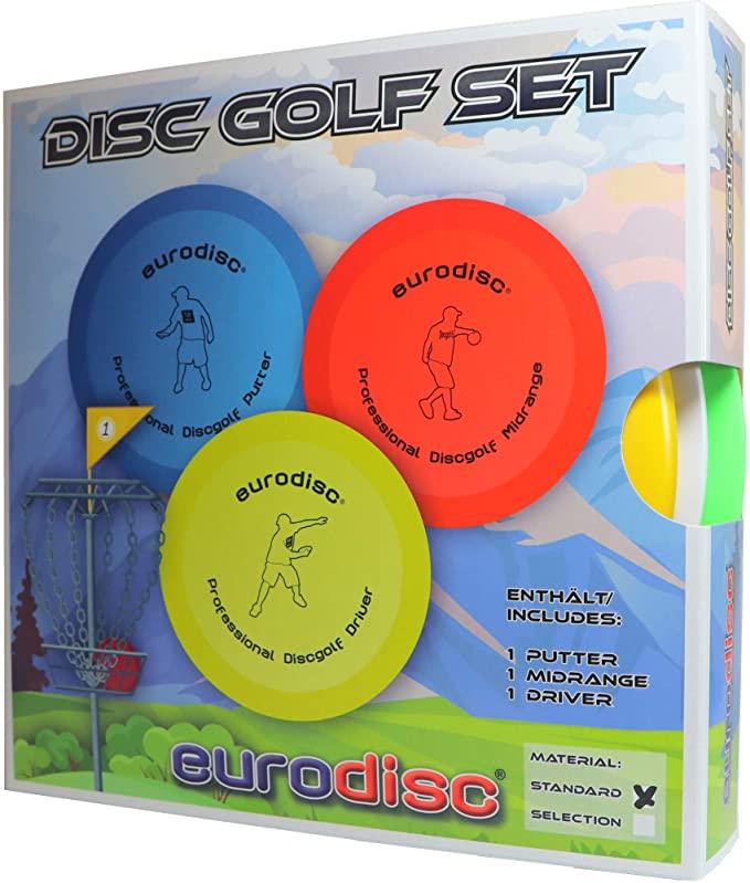 Disc Golf 3er Set